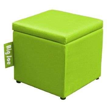 Superieur Amazon.com   Big Joe Square Storage Ottoman, 15 Inch, Spicy Lime