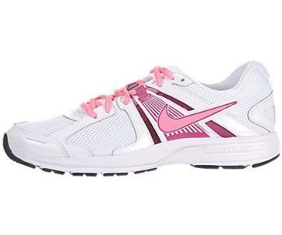Nike Dart 10 Running Shoes - Women athletic sneakers (7.5) White/Fusion Pink/Silver/Digital Pink (675911537930) Nike womens footwear