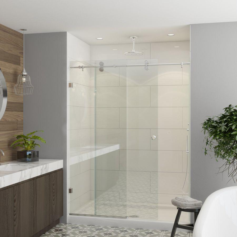 Cw Shower Enclosures 8800 Sliding Shower Door Frameless Sliding Shower Doors Shower Doors