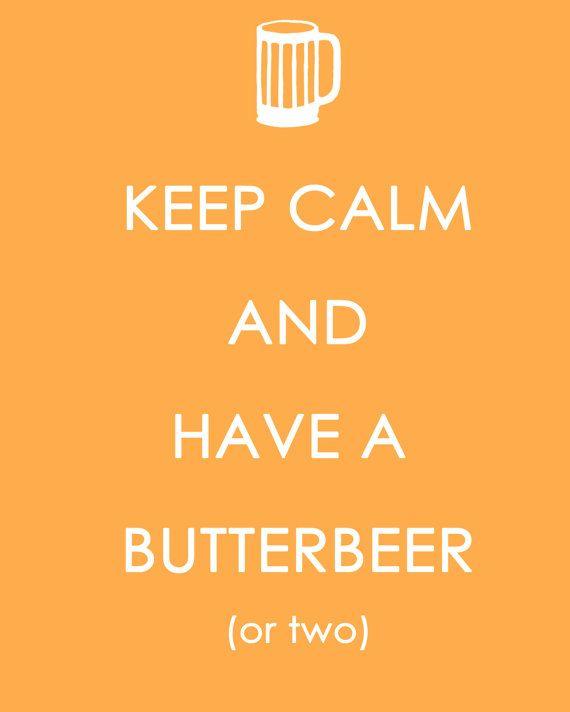 Butterbeers.
