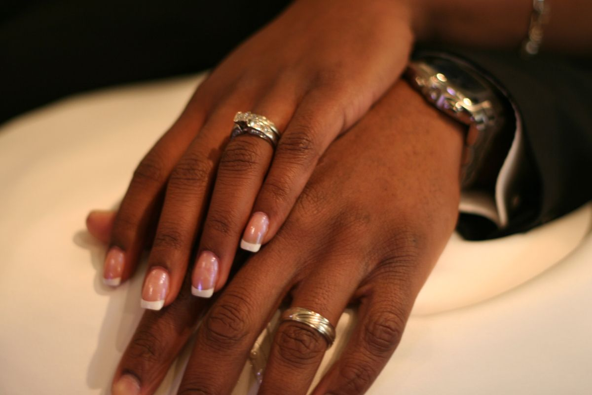 An old riddle told at weddings goes like this: How many rings are ...