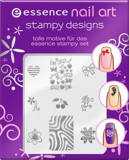 Nail Art Stampy Designs 01 Have Fun Essence Cosmetics Stencils