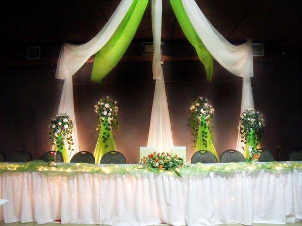 table d 39 honneur mariage d coration salle d coration. Black Bedroom Furniture Sets. Home Design Ideas