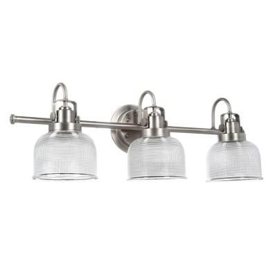 Progress Lighting Archie Collection 26.25 in. 3-Light Antique Nickel ...