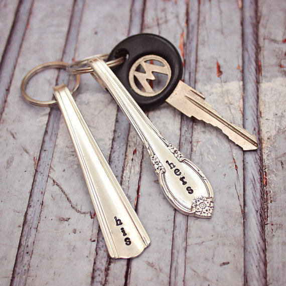 Hey, I found this really awesome Etsy listing at http://www.etsy.com/listing/163757002/his-and-hers-handle-key-chain-set