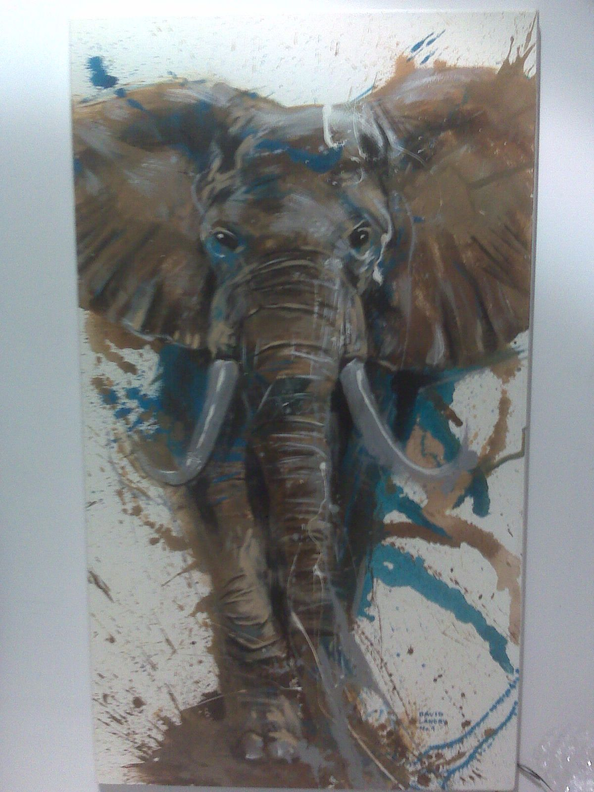 This Elephant Painting Would Work So Well On The Brick Wall In My Clientu0027s Living  Room Part 72