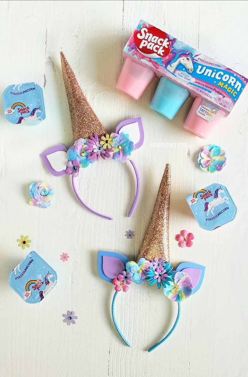 Unicorn horn headbands are super popular right now. Here s an easy DIY unicorn  headband tutorial fc22b6c586b