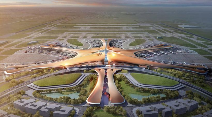 The World's Biggest Airport, built in Beijing's Daxing District