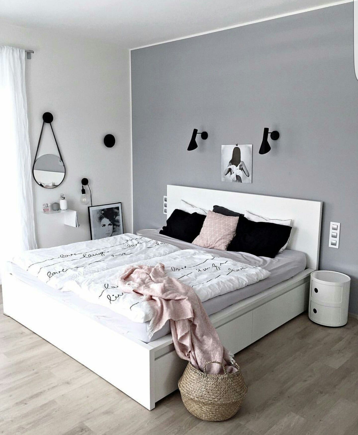 pin von sylvie vannitsem auf slaapkamer pinterest schlafzimmer ideen moderne einrichtung. Black Bedroom Furniture Sets. Home Design Ideas