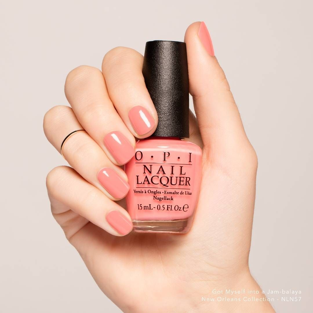 Opi New Zealand On Instagram This Gorgeous Peach Shade Is Perfect For Summer Gotmyselfintoajambalaya Opi Pink Nail Colors Peach Nail Polish Hair And Nails