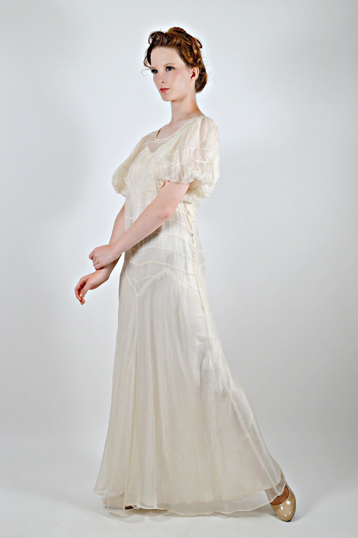 1920s sheer long dress gatsby party dress antique