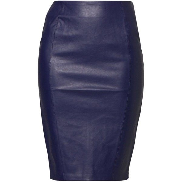 Kardashian Kollection at Lipsy PENCI Pencil skirt (69 CAD) ❤ liked on Polyvore featuring skirts, bottoms, pencil skirt, faldas, юбки, blue, knee length leather skirt, pattern skirt, blue leather skirt and print pencil skirt