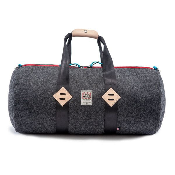 This Topo x Woolrich Duffel is made in the USA. Topo Designs is based in  Colorado and Woolrich is from Oregon. Cool 2f80f2431688f
