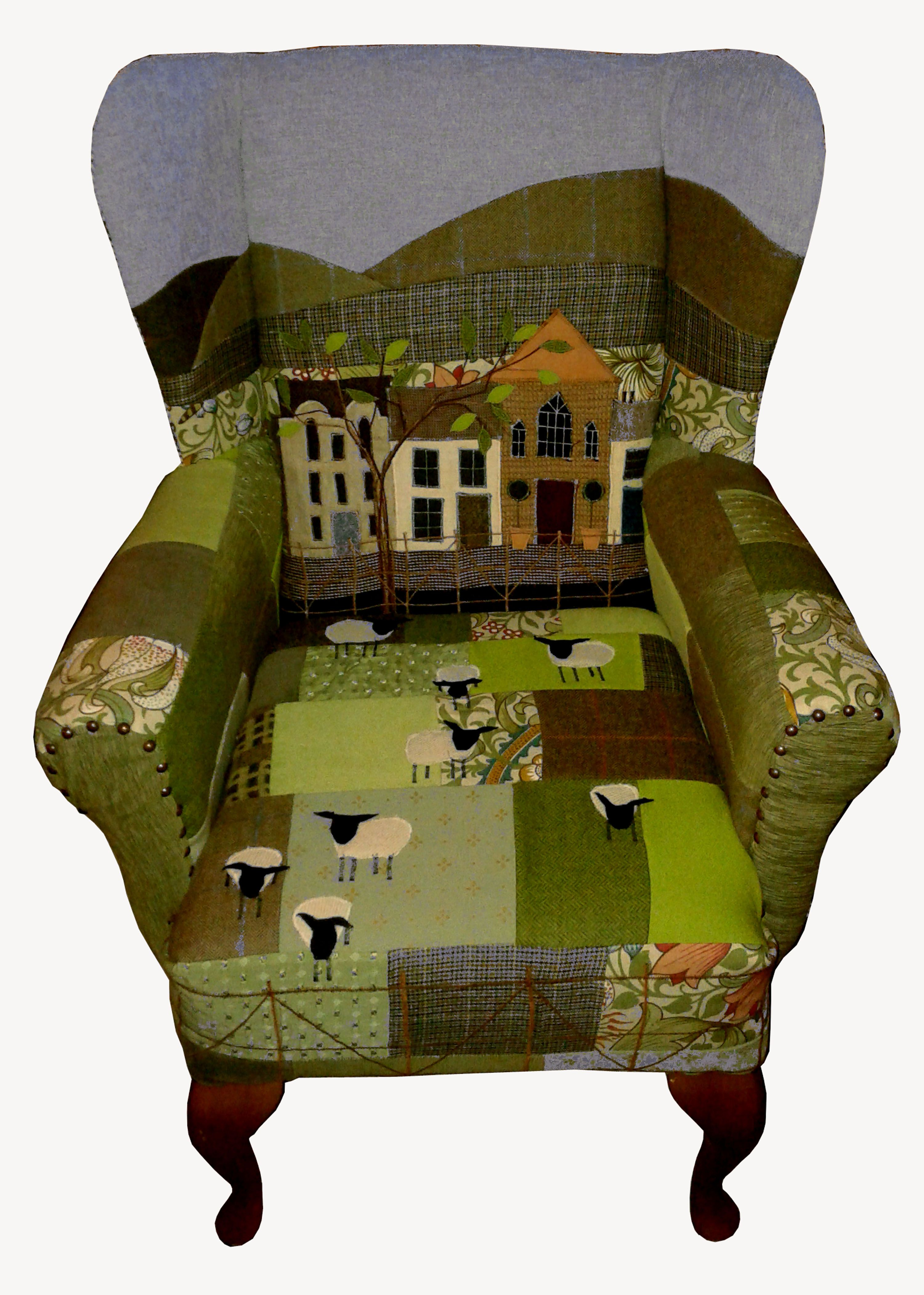 Choose A Scene For Your Chair Fabric Applique And