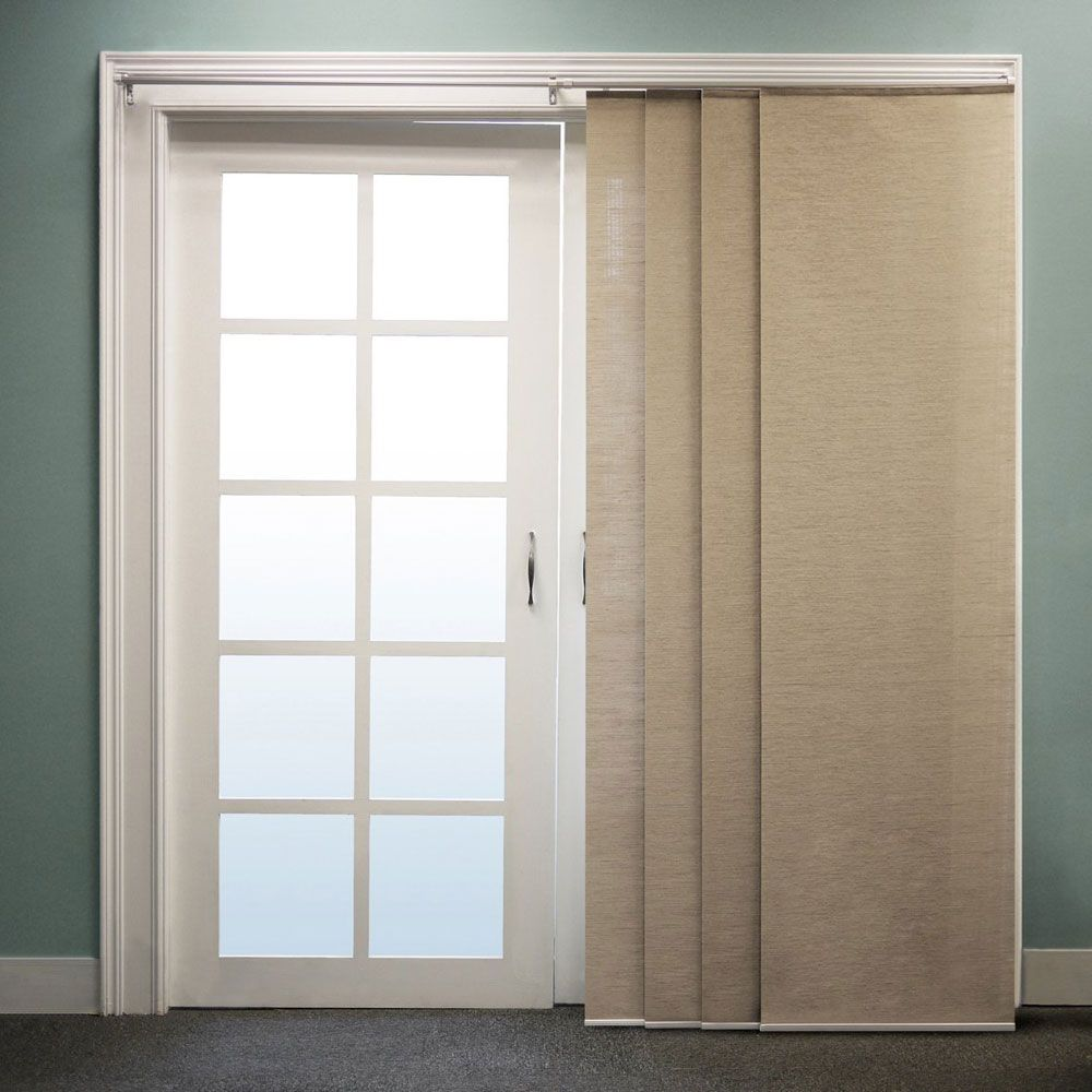 door best in on curtain sliding danidesignsco and shade pinterest it installs glass a s all doors versatile one curtains images