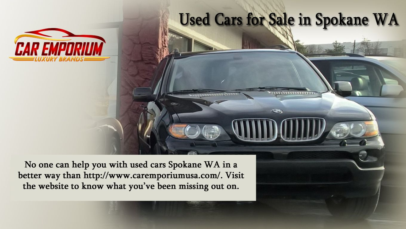No one can help you with used cars Spokane WA in a better