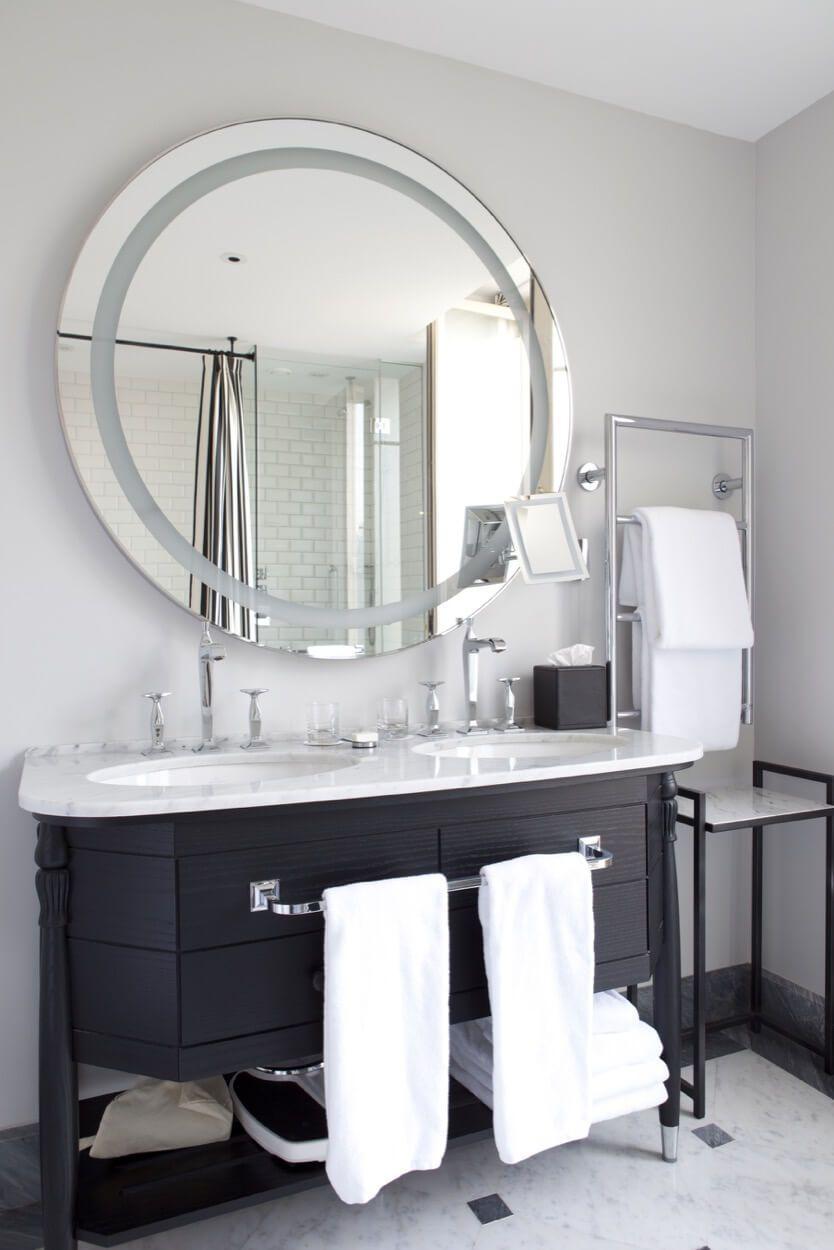 Black Vanity With Speckled White Top   Bathroom   Pinterest   Black ...