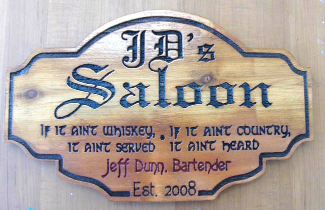 Pin By Nancy Taylor Henderson On Wood Sign Bar Signs Cool Wall Decor How To Antique Wood