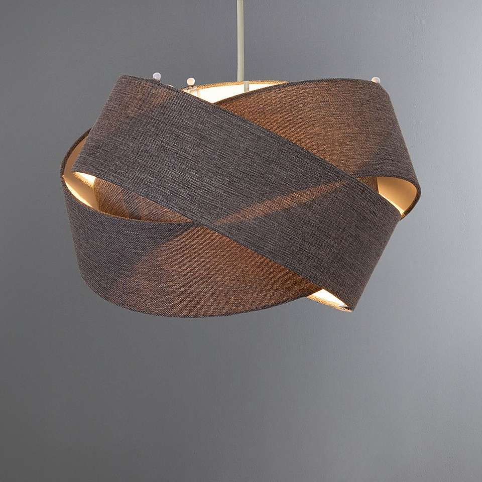 Elements Harley 10cm Twisted Shade  Bedroom ceiling light