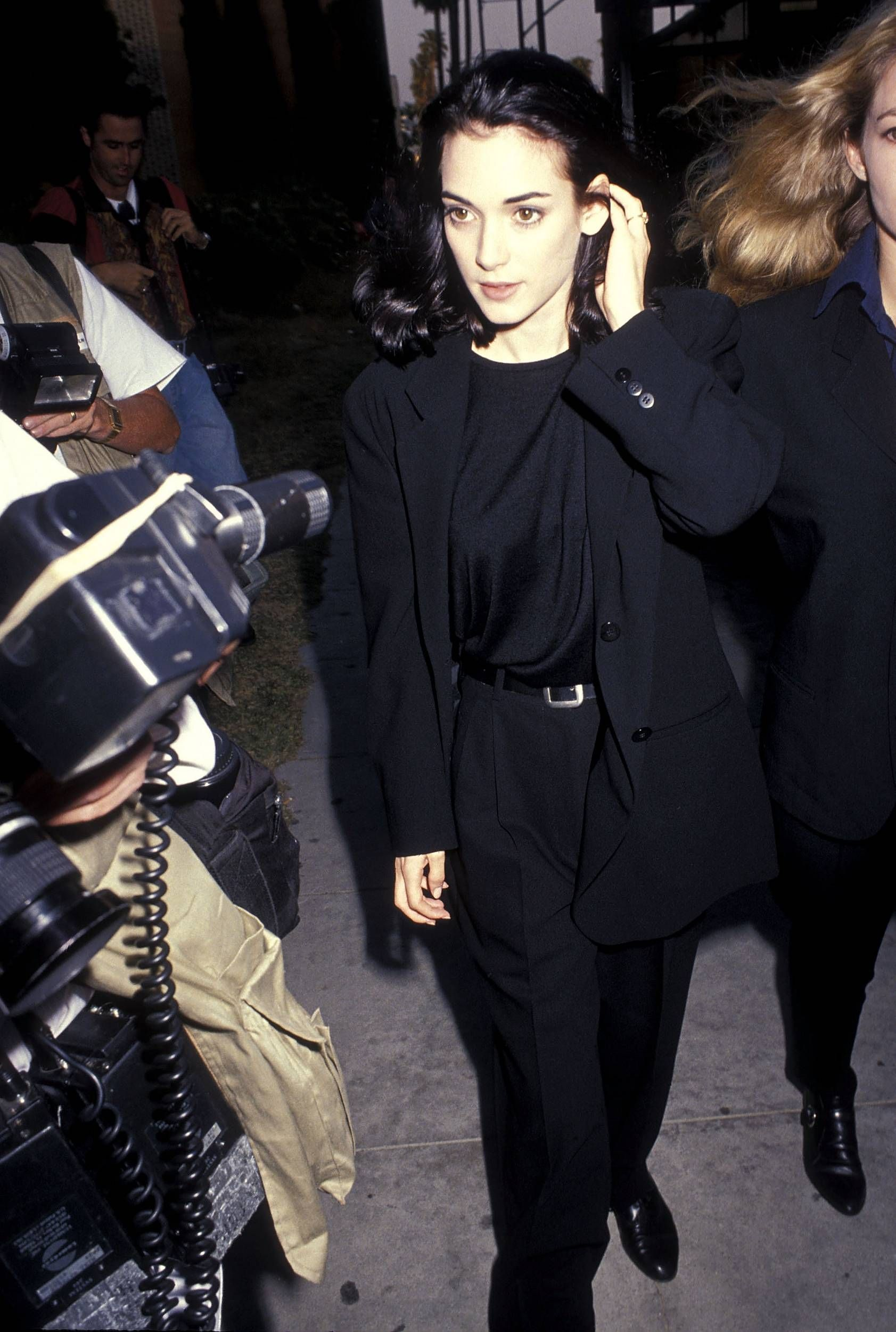 """Backdraft"" Beverly Hills Premiere - May 22, 1991 - nHQ 00001 - Winona Forever…"