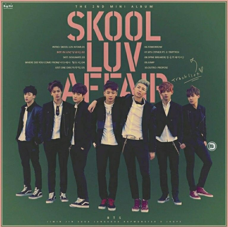 Bts Skool Luv Affair Skool Luv Affair Bts Skool Luv Affair Bts