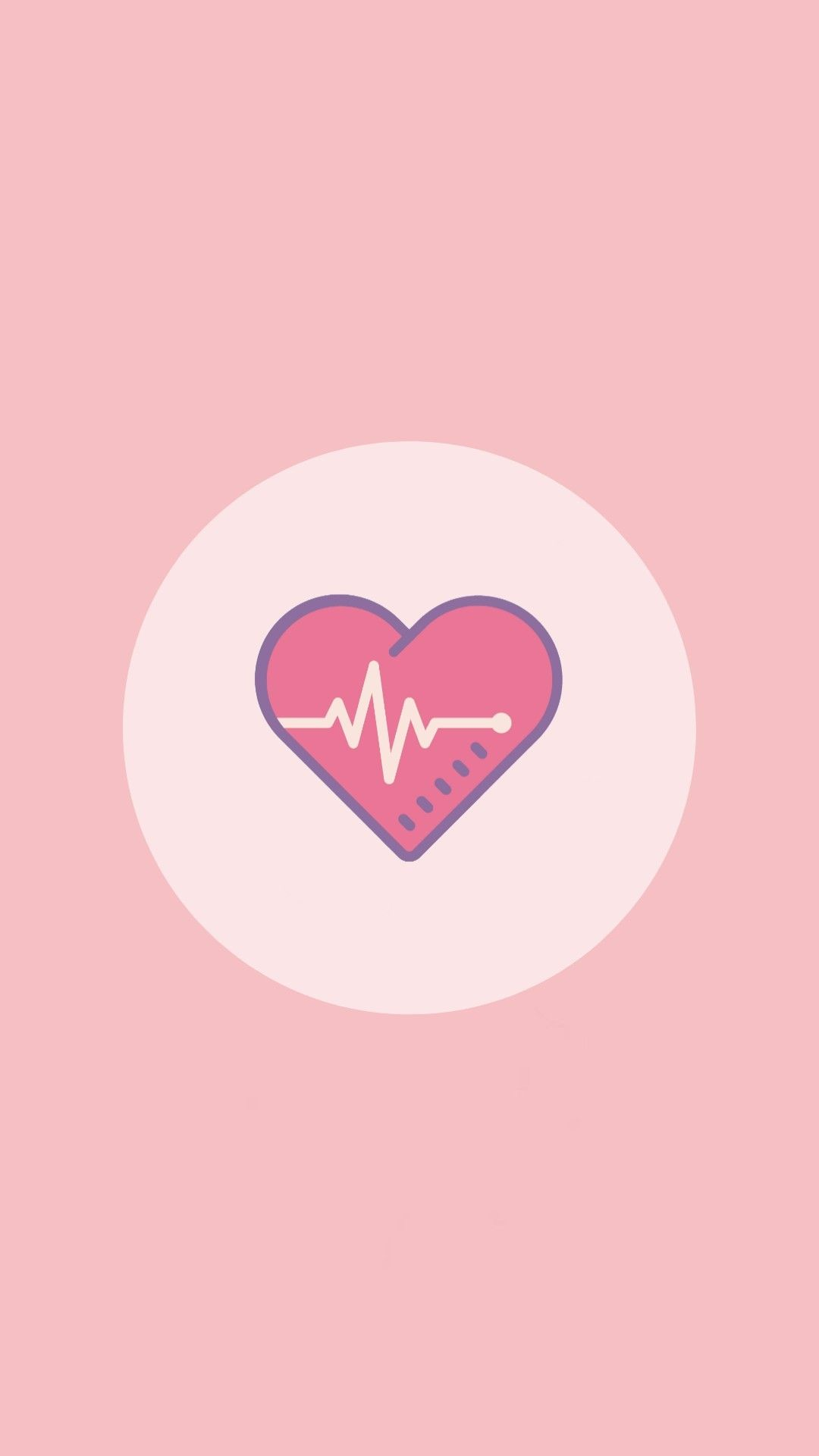 Pink health aesthetic