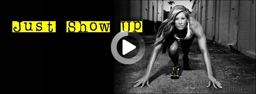 Just show up #fitness #fitnessgoals