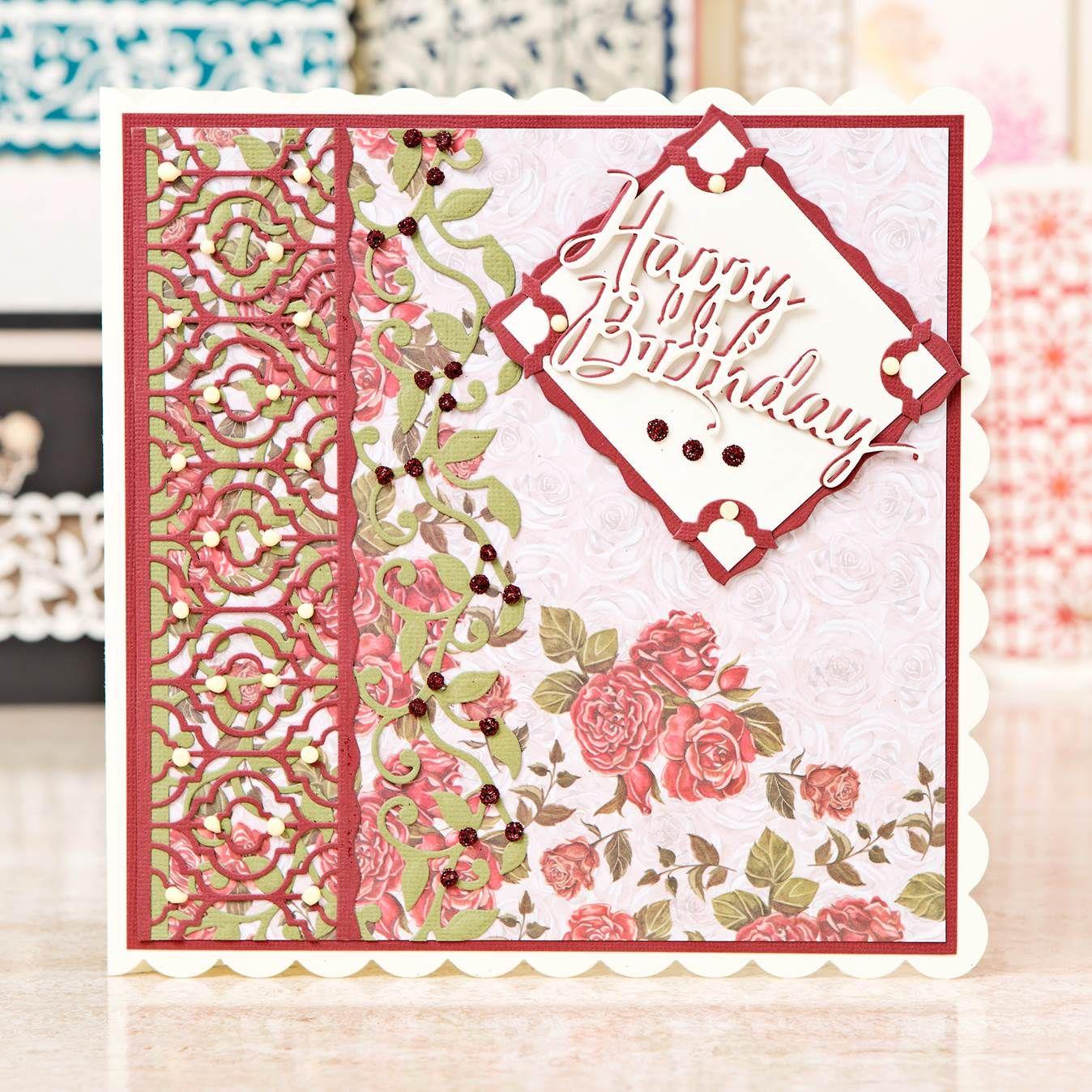 Happy Birthday card design from the brand new tonicstudiosuk – Birthday Card Site
