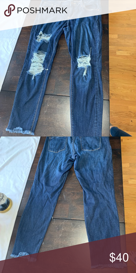 Just Black 30p jeans Just black jeans. Size 30p. If you like
