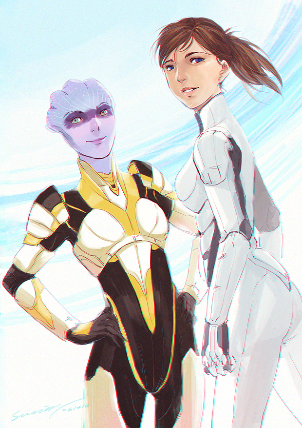 Be Brave by StellarStateLogic on DeviantArt || Mass Effect: Andromeda