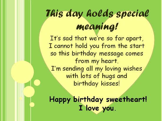 Happy birthday sweetheart happy birthday – Birthday Greetings for Husband and Father