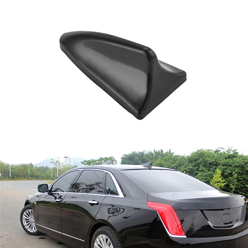 NEW Carbon Fiber Dummy Car Shark Fin Roof Aerial Decorative Antenna Universal