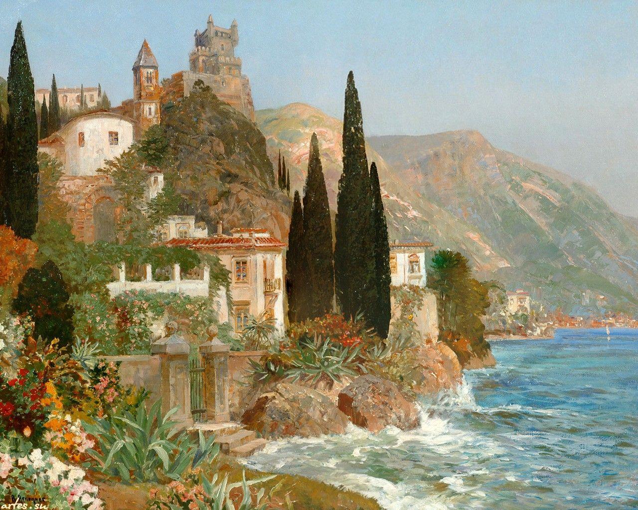 средиземноморский пейзаж фото дзуар покровитель молодоженов