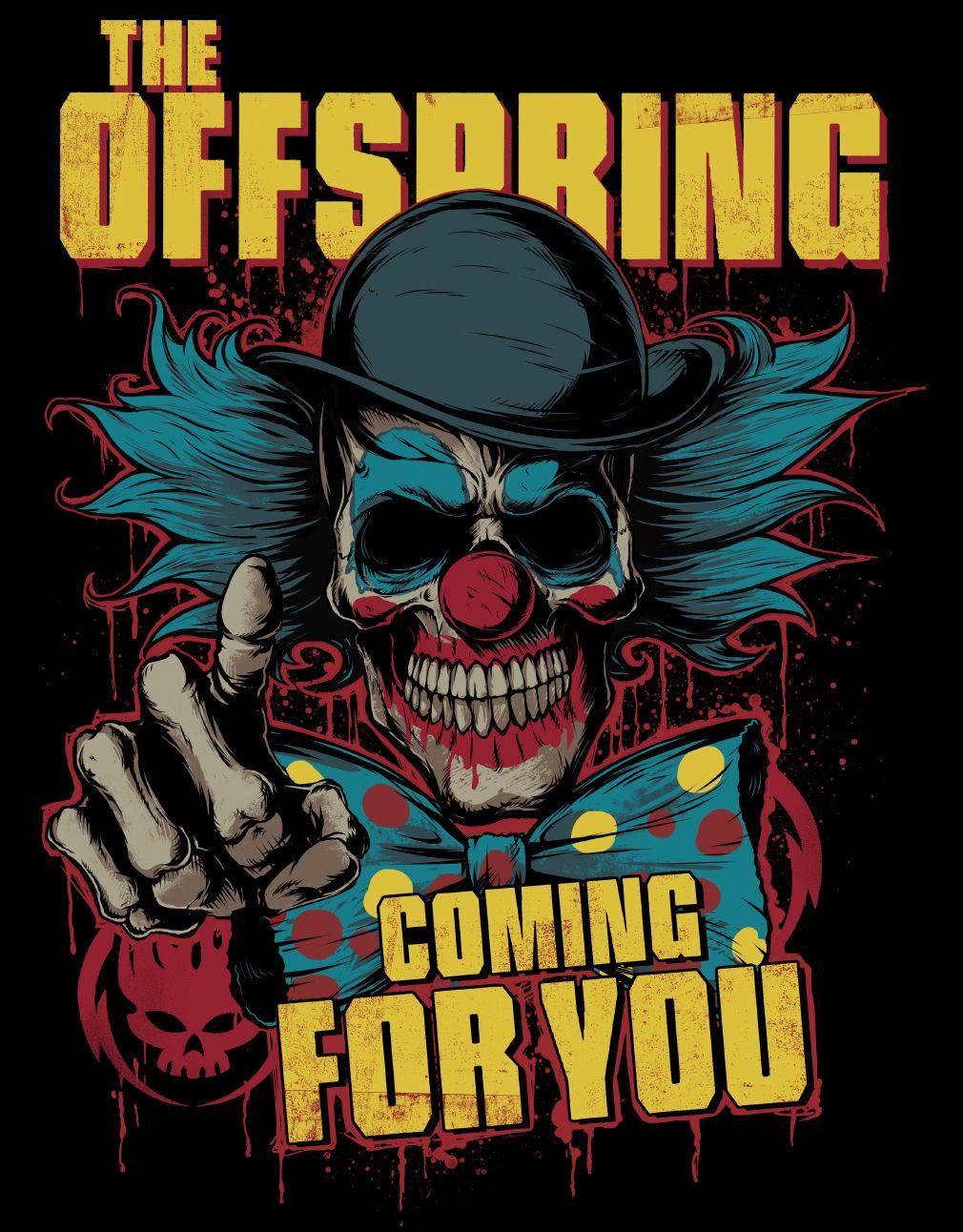 The Offspring Merch Design On Behance