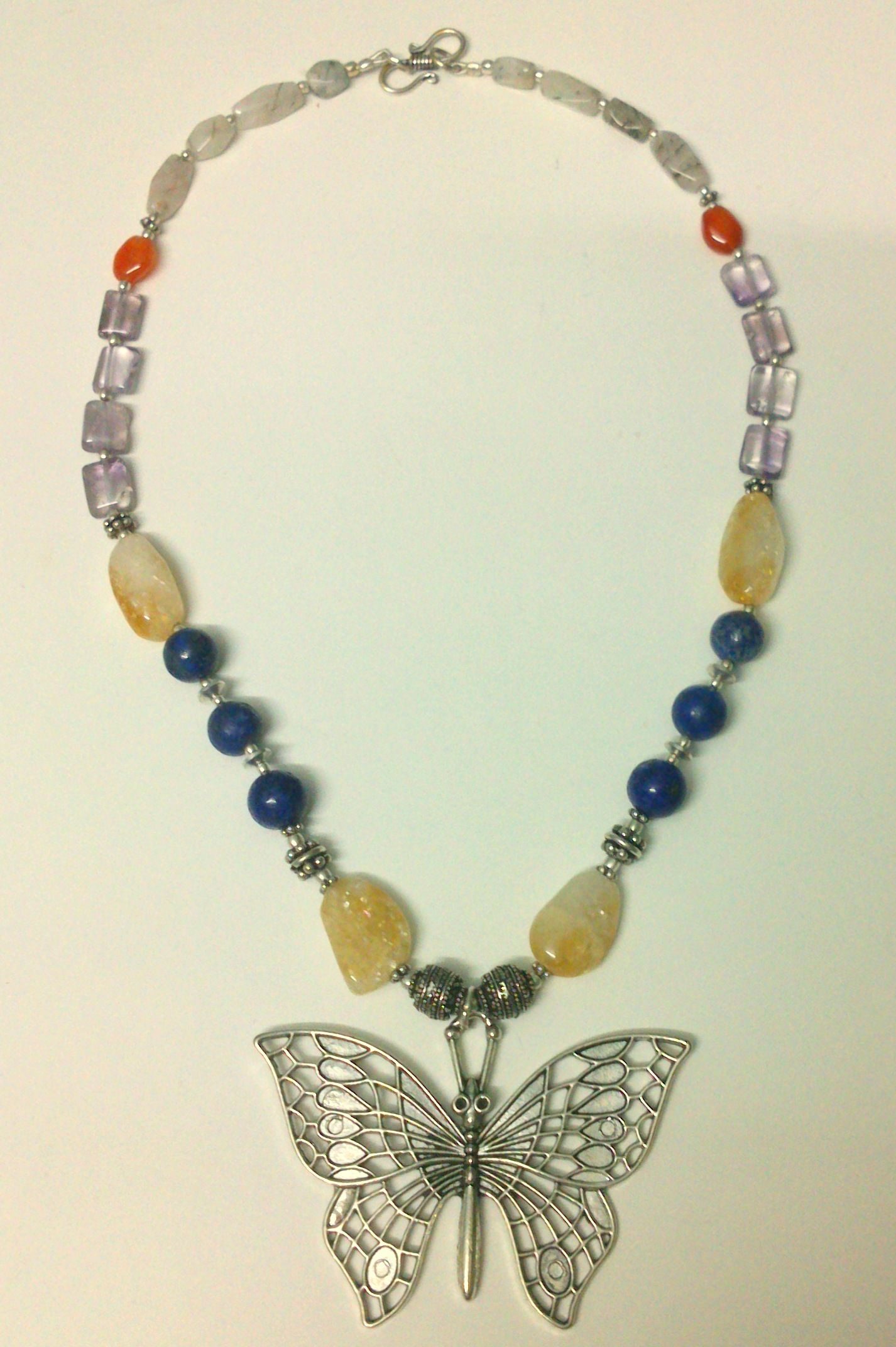 Precious stones and pearl mala   Pearl mala, Beaded