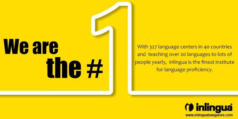 Inlingua Is The No And Finest Langua Learning Institute In The - World no 1 language