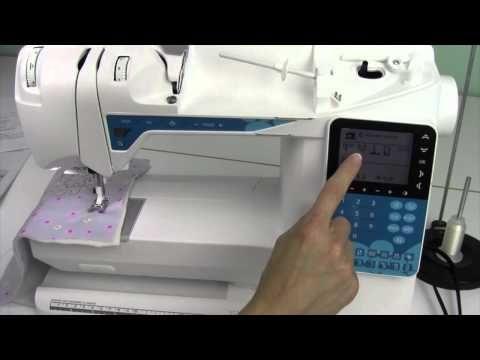 Husqvarna Viking Opal 40 40 Hand Look Quilt Stitch YouTube Cool Hand Stitch Look Sewing Machine