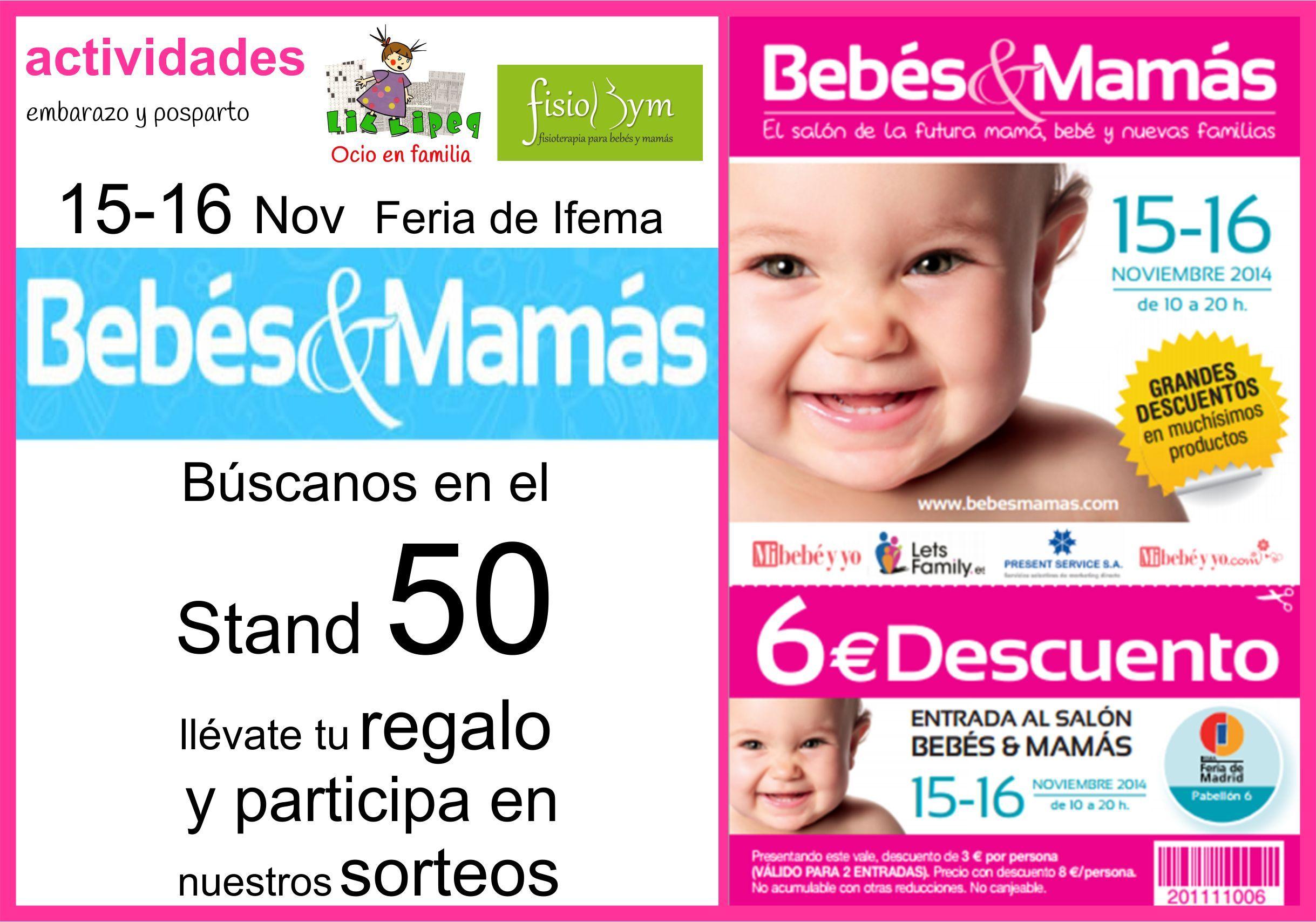 Colaboración Bebé a Bordo-Bezoya ¿quieres ganar una jornada en familia? Charlas, feria Ifema y más