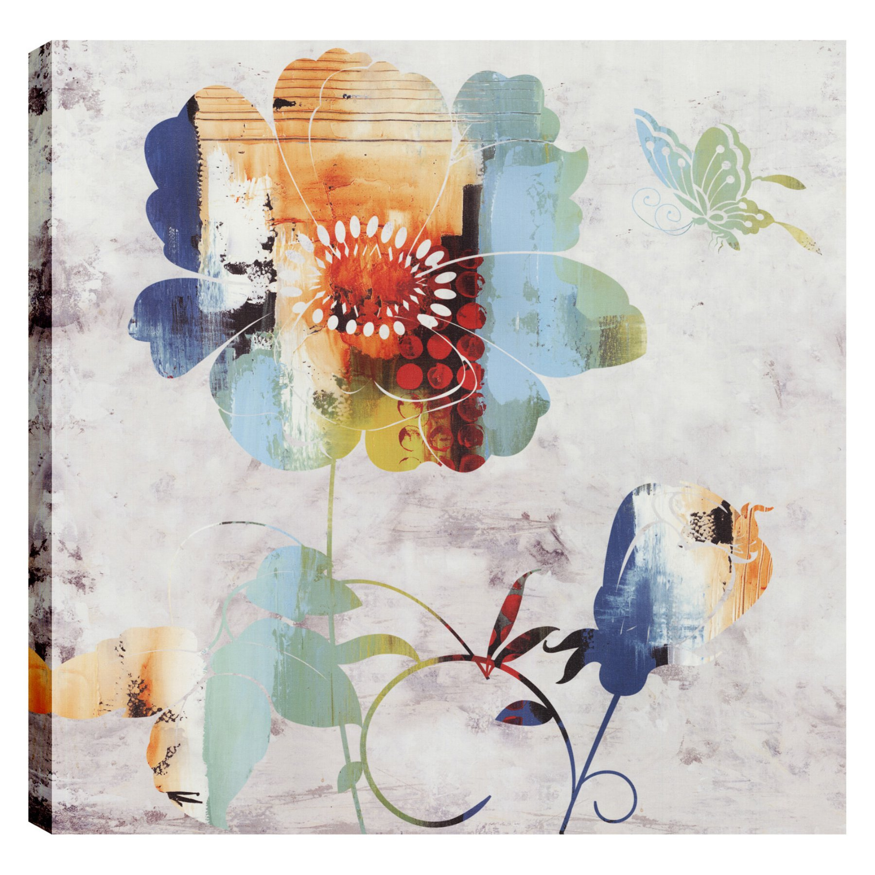Artmaison Canada Floral Colors I Wall Art  Imp5440Onl