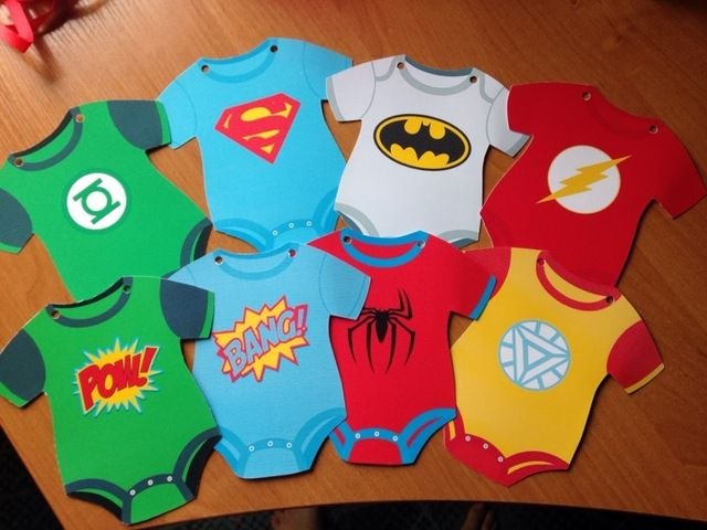 Online Shop Superhero Avengers Banners Baby Shower Birthday Party