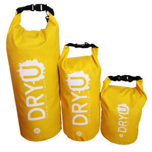 All Sizes yellow DRYU waterproof dry bag