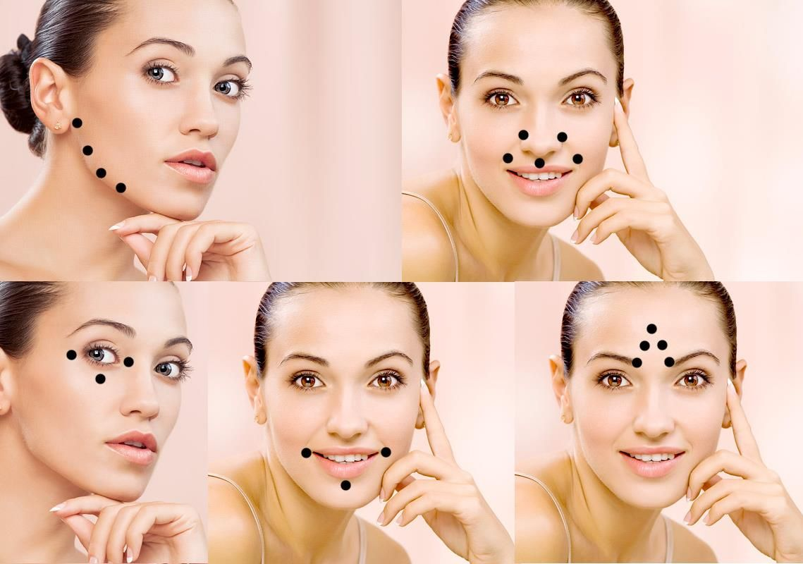 skin antiaging pressure points on your face :D | Style, Beauty