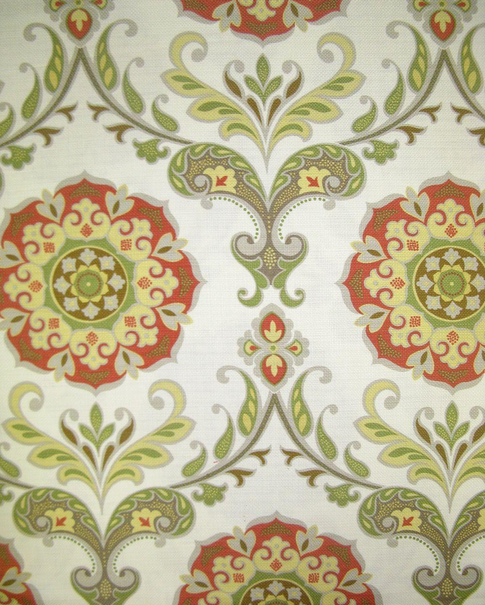 Medallion barossa persimmon custom home drapery fabrics