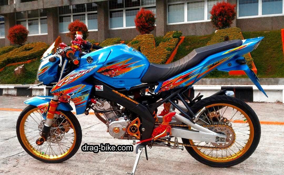51 Foto Gambar Modifikasi Motor Vixion Keren Terbaik Kontes Drag Bike Com Motor Gambar Motor Mobil