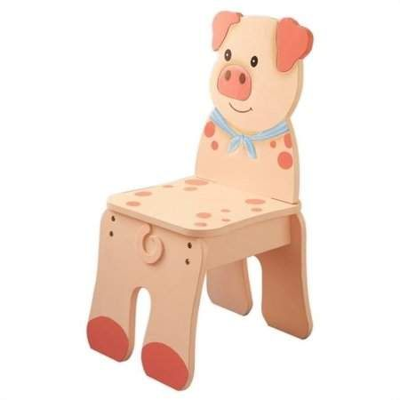 Incredible Fantasy Fields Happy Farm Pig Kids Desk Chair Products In Ocoug Best Dining Table And Chair Ideas Images Ocougorg