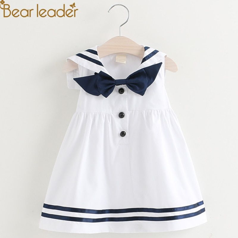 10922187299b6 Bear Leader Brand Dress 2019 New Summer Lolita Style Girls Dress ...
