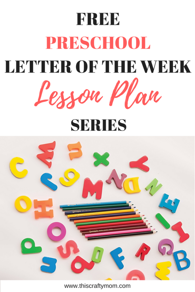 Letter and Sound Recognition FREE weekly lesson plan