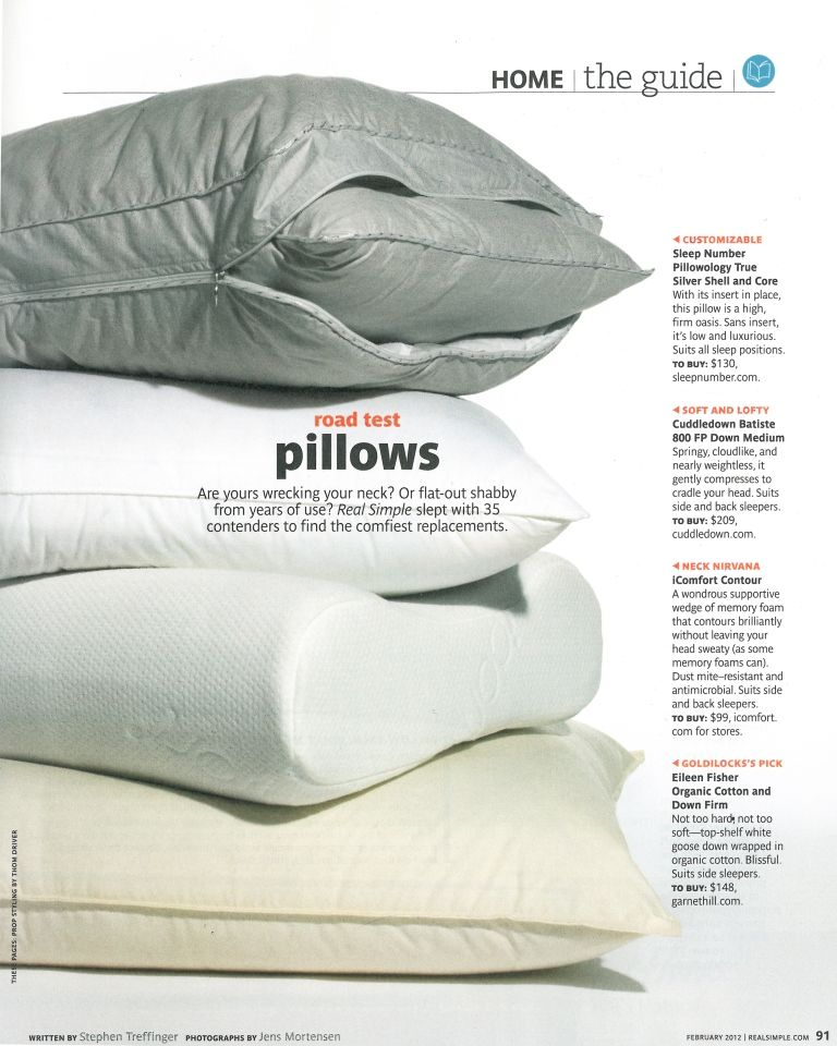 Finding the Best Goose Down Pillow