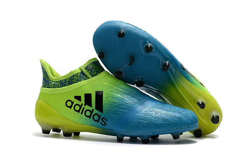 huge discount 51fef 693d1 New Football Boots   2017 Adidas X 16+ Purechaos FGAG Blue Volt Boots    free shipping fee -up to 60% off   sportcleatsuk.co.uk