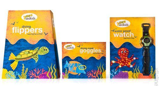 SeaKids Packaging
